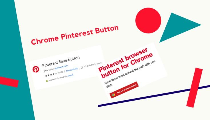 Chrome pinterest button