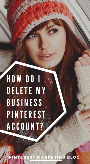 how do I delete my business pinterest account