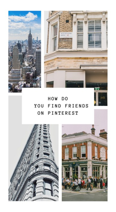 How to find friends on Pinterest?