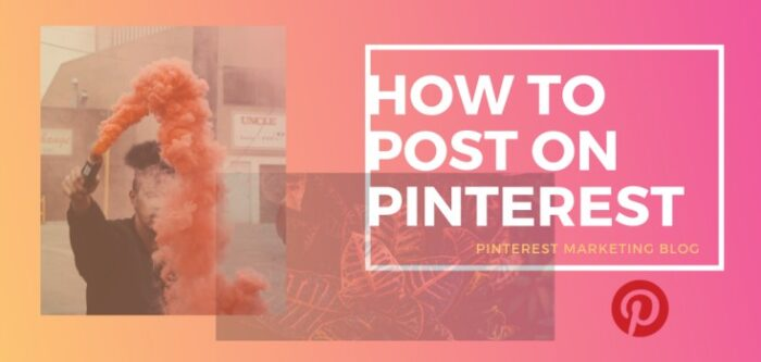How to post on Pinterest