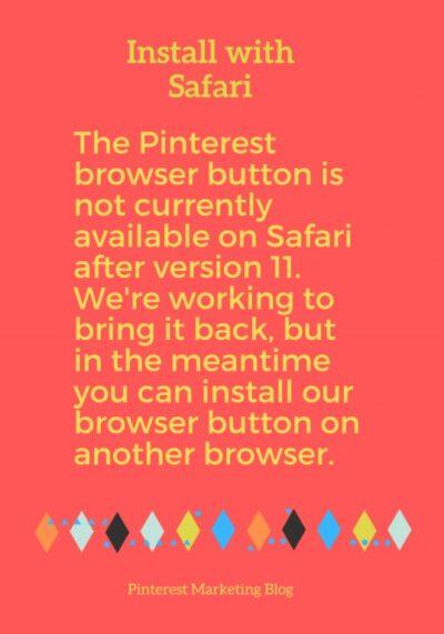 install with safari