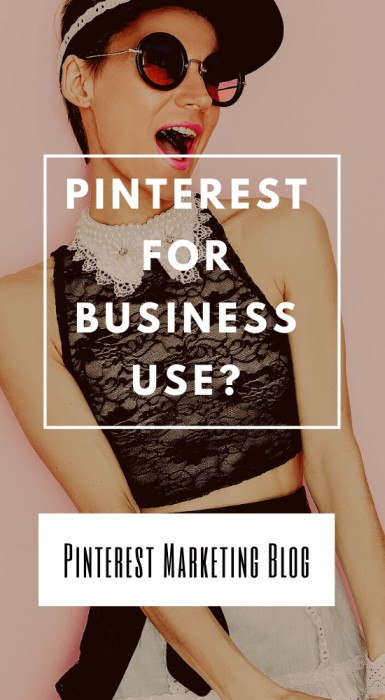 Pinterest for business use