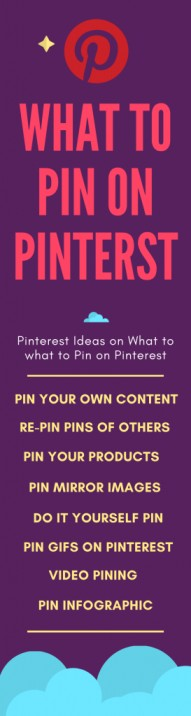 what to pin on Pinterest