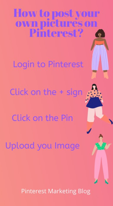How to Post your picture on Pinterest