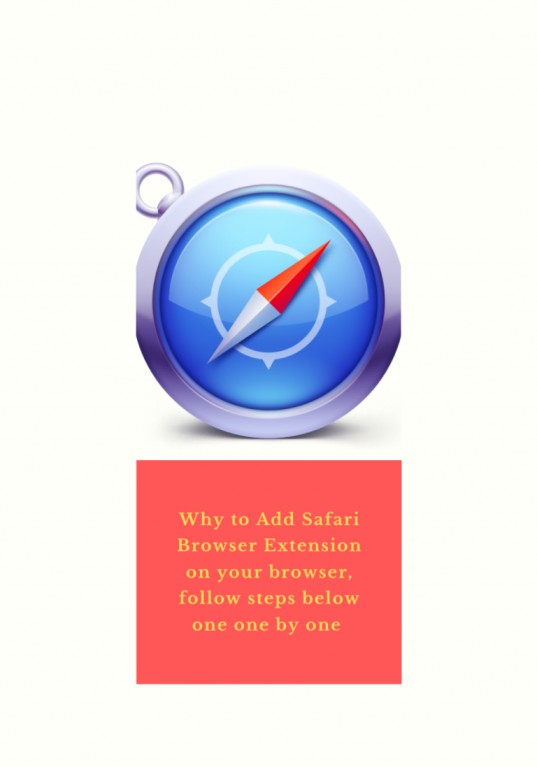 why to add safari browser extension