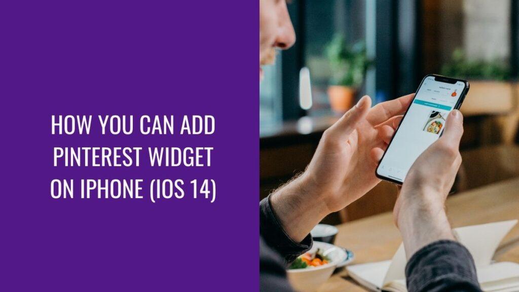 Add Pinterest Widget